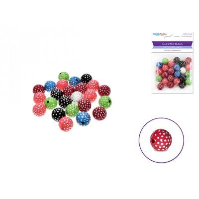 Perles scintillantes - Couleurs Multi