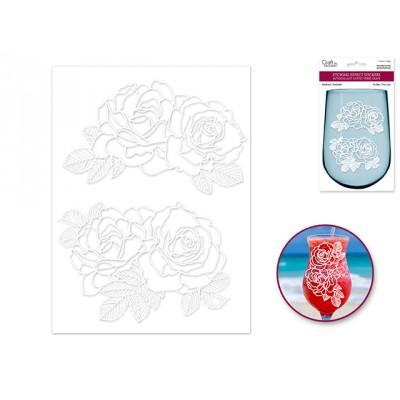 Autocollant -  Bouquets de roses