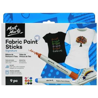 Bâton de peinture à tissu, 9pcs