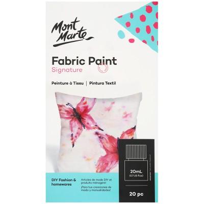 Ensemble de peinture pour tissu (20mcx X  20ml)