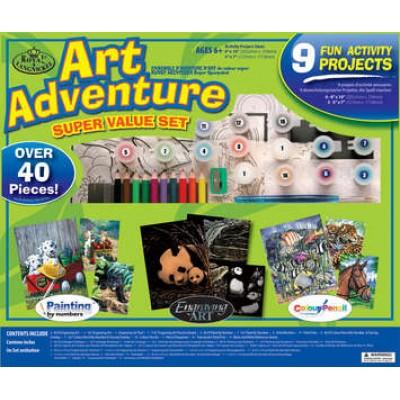 Art Adventure - Boîte verte  (Divers animaux)