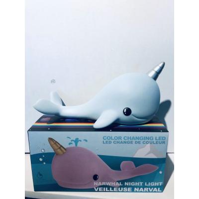 Veilleuse baleine - Bleu