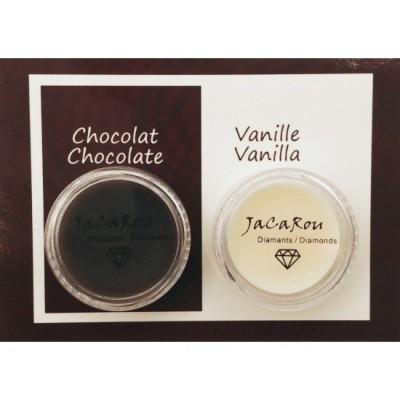Cires duo - Chocolat et vanille