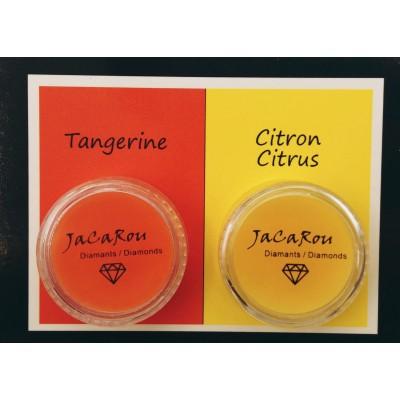 Cires duo - Tangerine et citron