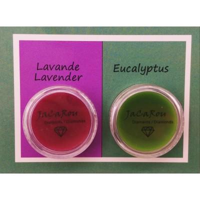Cires duo - Lavande et eucalyptus