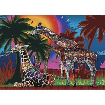 Girafes Multicolores