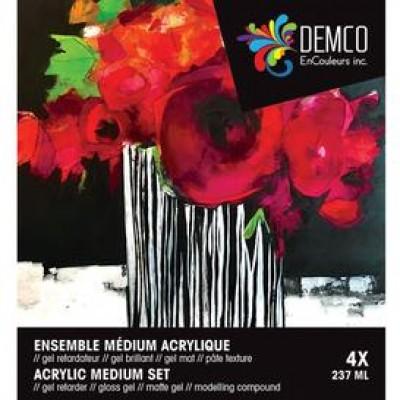 Ens. médium acrylique