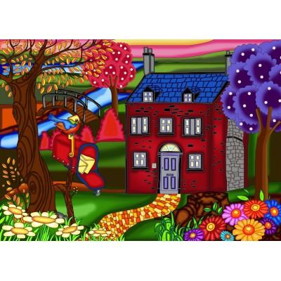 La maison rouge