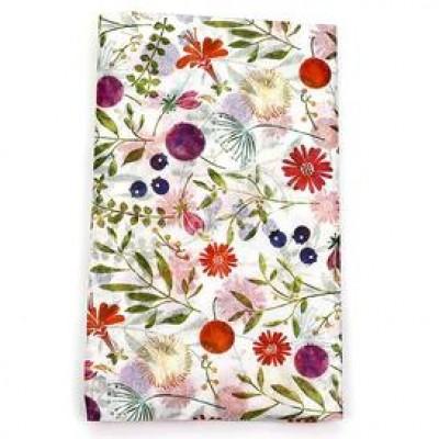 Papier de soie - Fleurs pêle-mêle