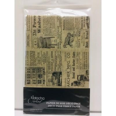 Papier de soie - Journal