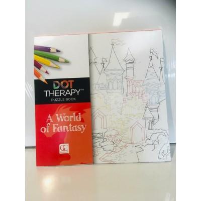 Art Thérapie à points numérotés -  Monde Fantastique