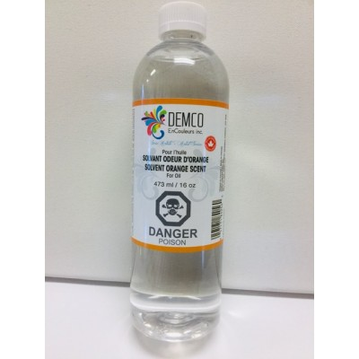 Solvant (Taltine) odeur d'orange,473ml
